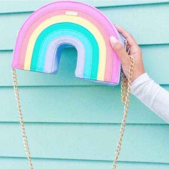 c714644aecb0 ✨Final Price✨Pastel Rainbow Crossbody 3D Bag